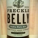 Freckle Belly IPA by Back Fourty Beer Company