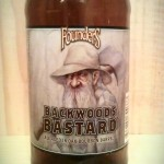 Backwoods Bastard by Founders Brewing Company.