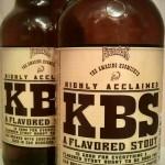 Kentucky Breakfast Stout (KBS) by Founders Brewing Company.