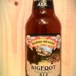 Bigfoot Barley Wine by Sierra Nevada Brewing Company.