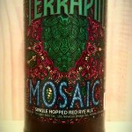 Mosaic single hop red rye IPA by Terrapin Beer Co.