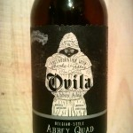 Sierra Nevada Ovila Abbey Quad with Plums